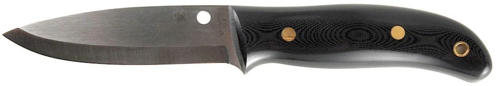 cuchillo de punta caida+spyderco