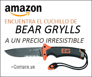 Cuchillo de supervivencia bear grylls